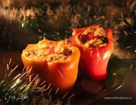 Холодная закуска «Рождественские свечи»