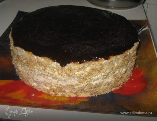 Медово-ореховый торт «Мишка»