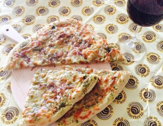 Закусочный хлеб с сулугуни