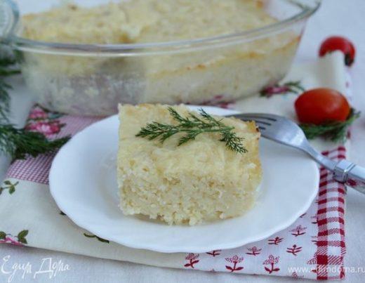 Запеканка с кускусом и сыром