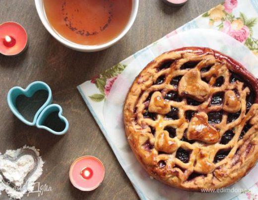 Вишневый пирог, приготовленный с любовью