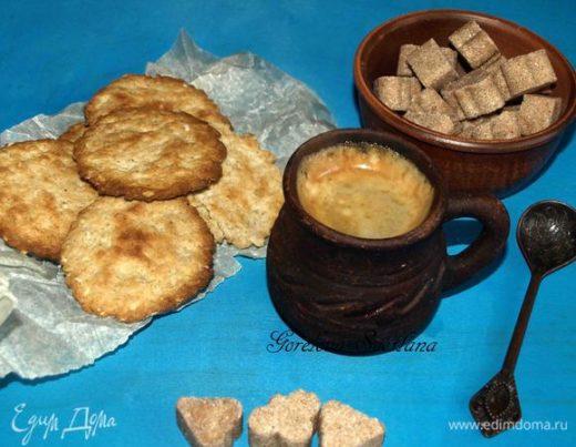 Овсяное печенье с жареными каштанами