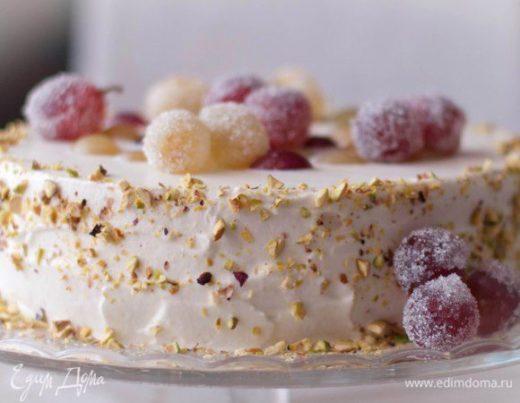 Торт «Сладкая душа винограда»