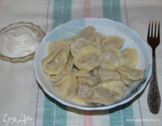 Пельмени мясо-капустные «Семейная традиция»