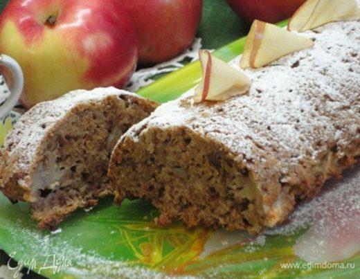 Яблочно-ореховый кекс