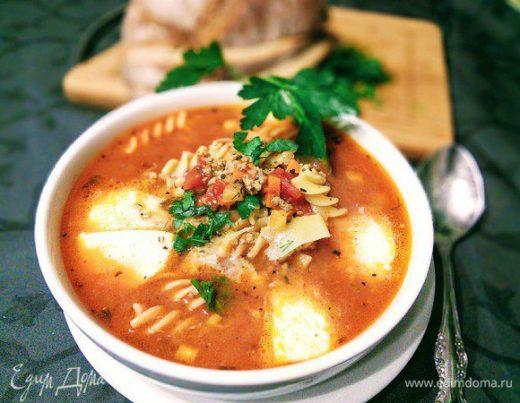 Суп–лазанья