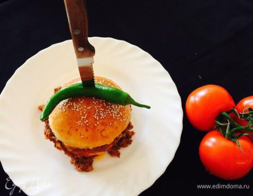 Бургер «Слоппи Джо»
