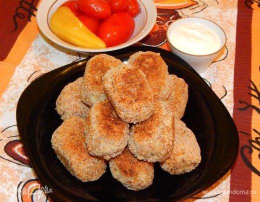 Постные котлеты из гречки и картофеля