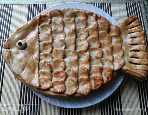 Пирог «Рыбка»