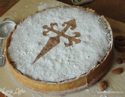 Миндальный торт Tarta de Santiago