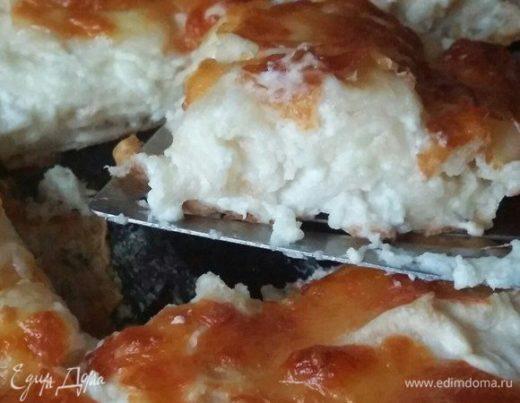 Ачма с творогом и сыром