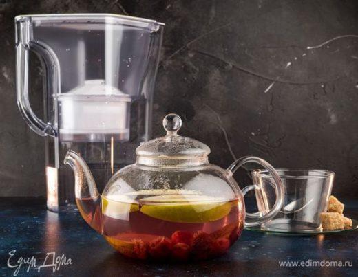 Фруктовый чай с ванилью