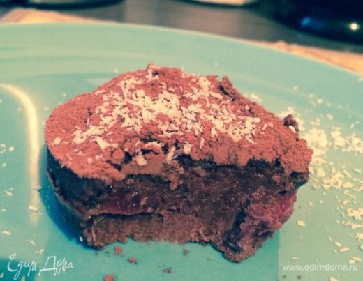 Шоколадные пирожные с протеином