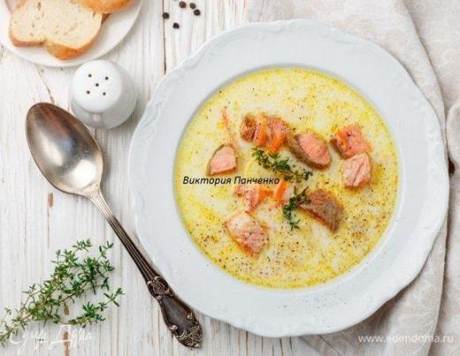 Сливочный суп из лосося «Лохикейтто»