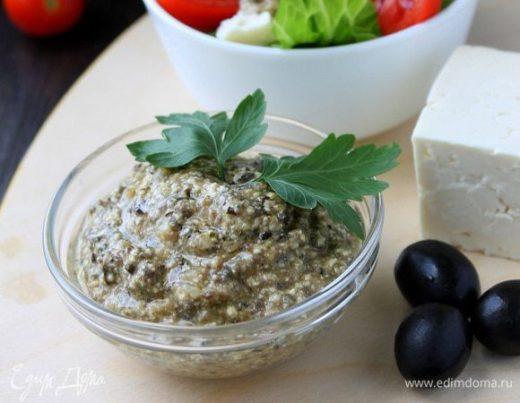 Соус с брынзой и маслинами