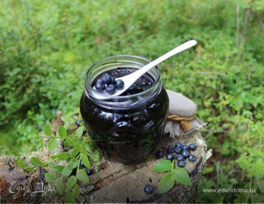 Черничный джем с черной смородиной