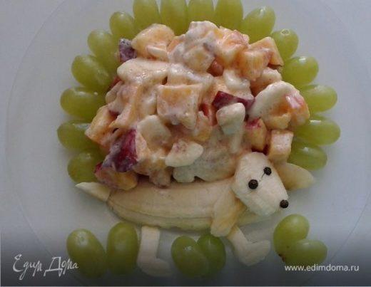 """Фруктовый салат """"Гав-гав"""""""