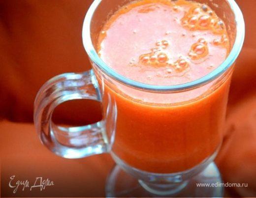 Морковно-мандариновый коктейль