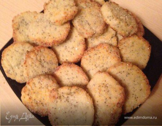 """Сырное печенье """"Маковка"""""""
