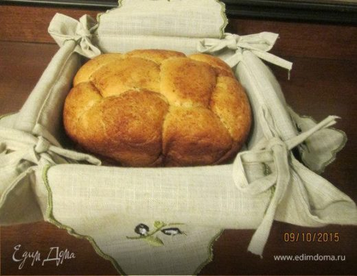 Сладкий арабский хлеб в хлебопечке