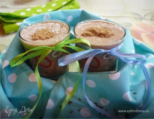 Шоколадно-льняной смузи