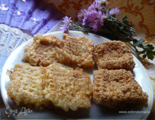 Тыквенно-картофельные вафли