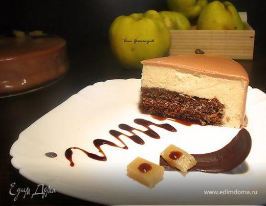 Торт «Яблоко любви»