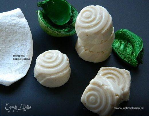 Желейно-творожные конфеты