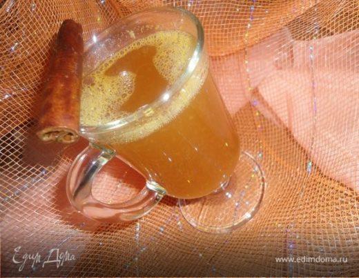Согревающий мандариновый чай