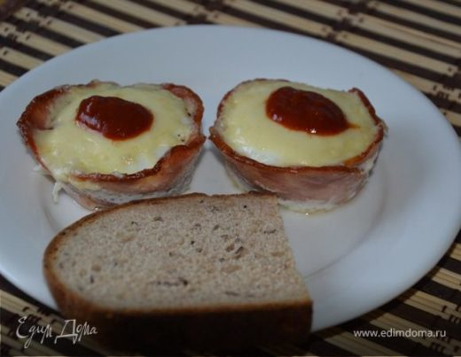Ветчина и яйца