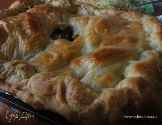 Мясной пирог с бараниной (Кубате)