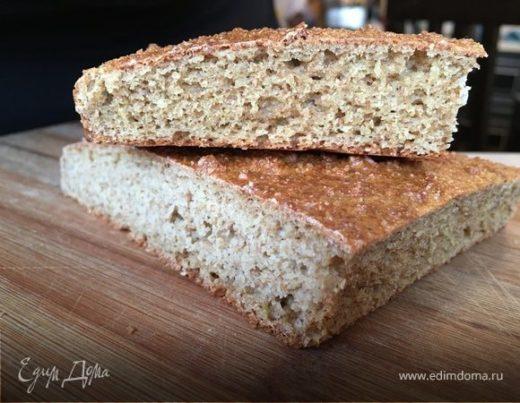 Ароматный хлеб из отрубей без муки (диетический)