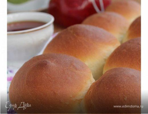 Воздушные булочки на завтрак