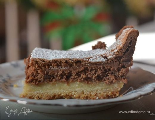 Шоколадный чизкейк бар