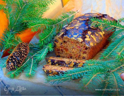 Рождественский кекс на портере (штоллен)