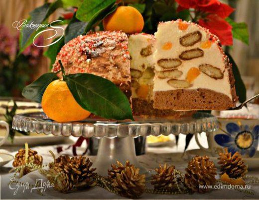 Торт «Рождественский купол»
