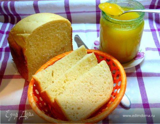 Хлеб на сметане в хлебопечке