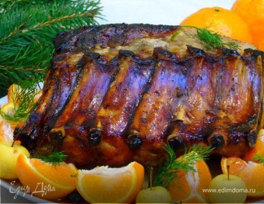 Свинина в мандариновом соусе