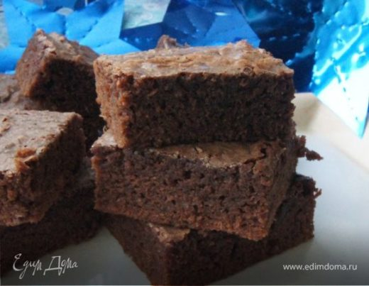 Имбирно-шоколадные брауни