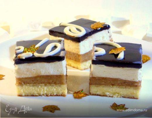 Сливочно-банановый торт-мусс