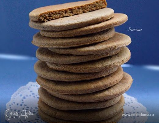 Шведское имбирное печенье