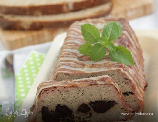 Паштет из свиной печени с черносливом