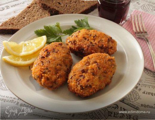 Рыбные котлеты по-балкански