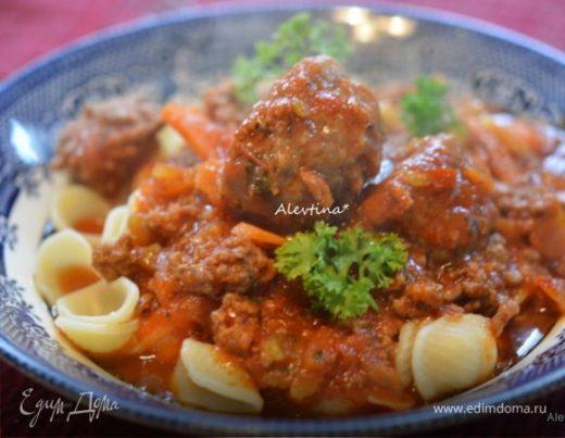 Мясной соус по-итальянски