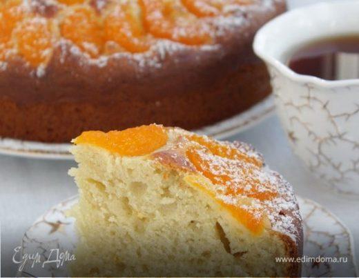 Пирог с мандаринами и рикоттой