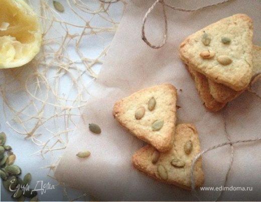 Быстрое лимонное песочное печенье