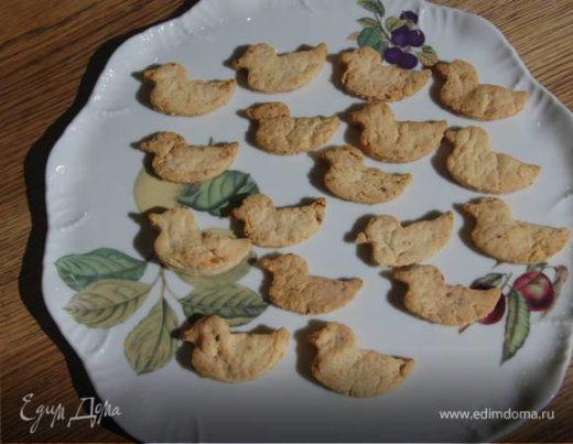 Сырное печенье с перцем