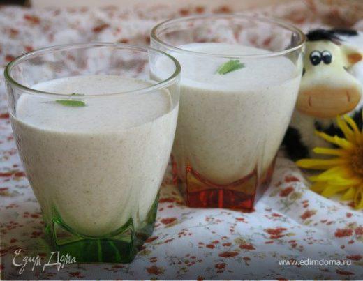 «Молоко» из овсянки