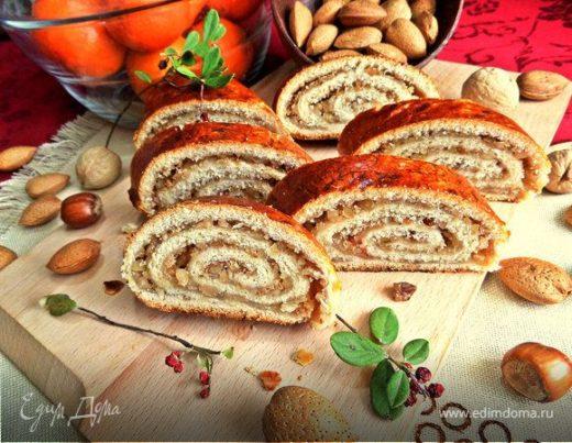 Венгерский ореховый рулет