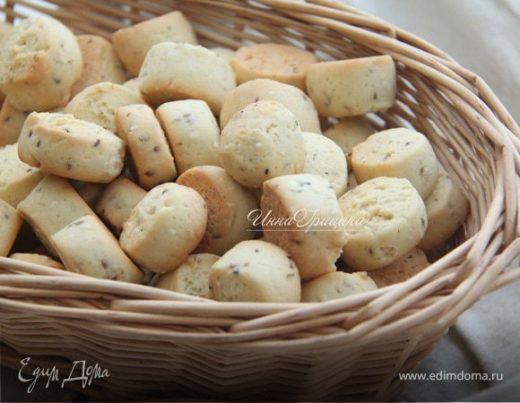 Анисовое печенье с кунжутом